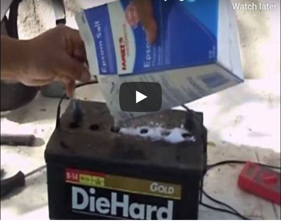 How To Recondition Batteries Rejuvenate Restore Old Dead Car Batteries